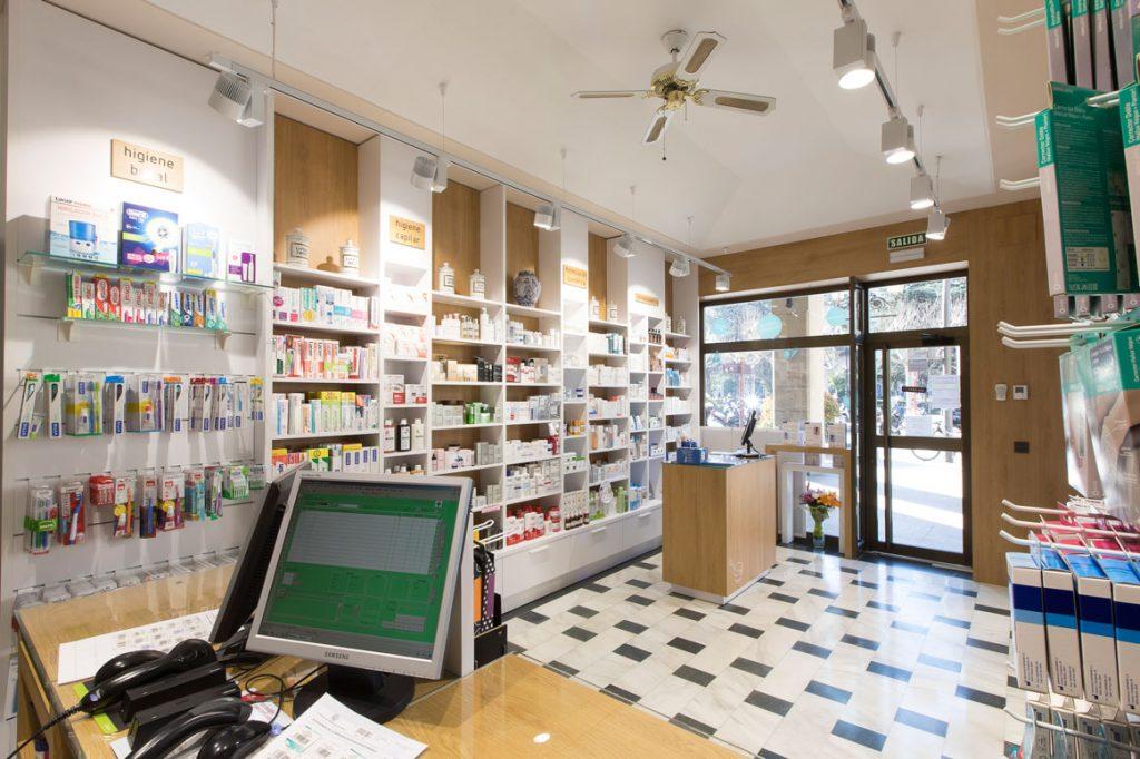 Diseño y reforma de farmacias