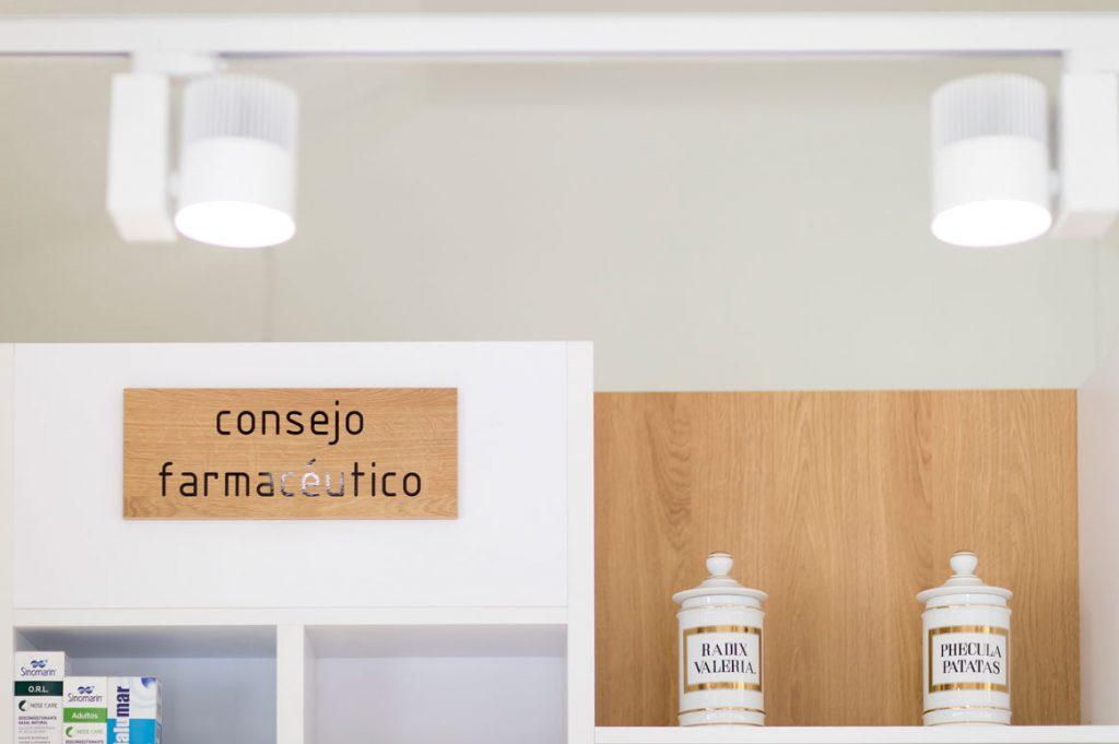 Diseño y reforma de farmacia