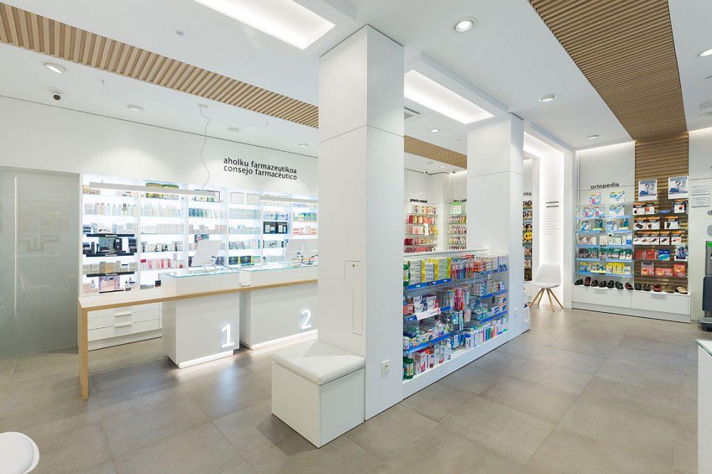 muebles de farmacia